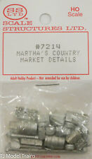 SS Ltd. HO #7214 Martha's Country Market Details (Cast Metal)