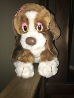"VTG RUSS BERRIE Bertha Basset Hound Stuff Animal Plush PUPPY Dog 11"""