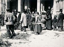 PARIS 1900 - Les Rameaux devant St Augustin - DIV1635
