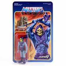 Masters of the Universe Skeletor Reaction Super7 Vintage Style Action Figure