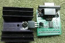 Interface for FE5680A rubidium module provides power reg. 4- 10MHz sigs.