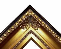 """4.25"""" fancy Gold Leaf Ornate kinkade Oil Painting Wood Picture Frame 650G"""