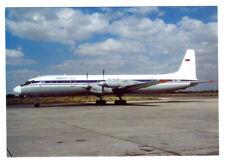 ELF AIR Iljushin IL-18V  Postcard