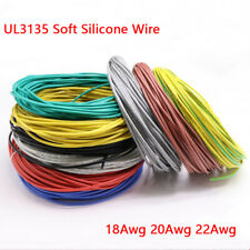 Ul3135 Soft Silicone Wire 182022awg Tinned Copper Heat Resistant Cable Wire
