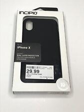 Incipio DualPro Case Cover for Apple iPhone X - Black