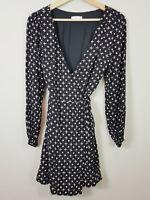 KOOKAI | Womens Star Print wrap Dress [ Size 36 or AU 8 / US 4 ]