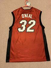 b8db6d84d1b Shaquille O Neal  32 Signed Miami Heat Jersey Autographed Sz M HOF Shaq