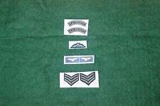 1/6 moderno RAF Regiment SGT Strisce Ali e Insignia Set Lotto