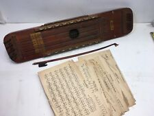 Vintage UKELIN INTERNATIONAL MUSIC CORPORATION 32 String pat.1926 ~ music sheets