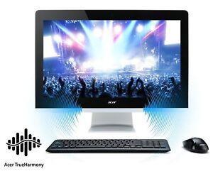 Acer AZ3-711 24-inch AIO Intel  i3-4005 1.7GHZ/8GB RAM /240GB SSD  /WN10/OFFICE