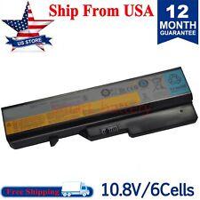 New listing Battery For Lenovo G460 G475 G470 B470 B470A B485 B570 B480 G570Ah G575M L08S6Y2