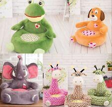 Giraffe Children Sofa Animal Cushion Stuffed Doll Plush Toys kid Seat Beanbag