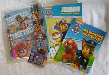 Paw Patrol Doodle Pad Stationery Set with Pouch And activity And coloring books