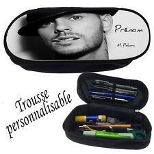 Trousse à crayons MATT POKORA V5 personnalisée avec prénom