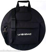 """24"""" Multi-Cymbal Gig Bag w/Shoulder Strap & Pocket - Excellent Deal"""