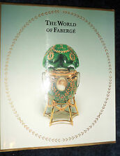 THE WORLD OF FABERGÉ  Catalogue  MOSCOW 1996 | New HB