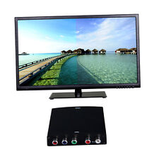 RGB YPbPr Video + R/L Audio Adapter Converter HD TV To HDMI 1080P Adapter YT
