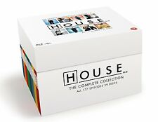 House MD Complete Series Blu-Ray Season 1-8 Box Set Collection TV Show Lot Hugh