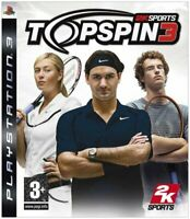Top Spin 3 (PS3) (Sony PlayStation 3 2008)