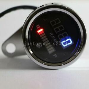 Motorcycle LED Fuel Gauge Tachometer For Yamaha V-Star 650 950 1100 1300 Classic
