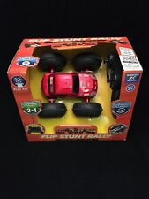 Red Flip Stunt Rally RC Car R3 Two Cars In One 49 MHZ Blue Hat Toys 6+ 360