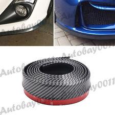 Carbon Fiber Bumper Lip Splitter Body Spoiler Skirt Valance Chin Protector 250CM