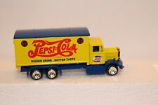 Golden Wheel Diecast PEPSI-COLA DELIVERY TRUCK ~ Yellow / Blue ~ Nice!