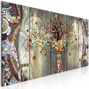 LEINWAND BILDER Gustav Klimt Sezession Kunstdruck Baum des Lebens Wandbilder XXL