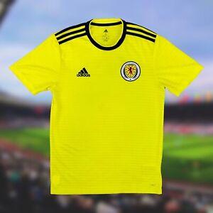 Scotland 2017/18 International Away Soccer Jersey Small Adidas Camiseta Futbol