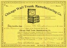 Chicago Wall Trunk Manufacturing Co.