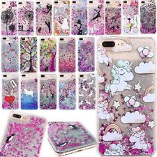 Dynamic Liquid Glitter Quicksand Pattern Hard Case Cover For iPhone 6s 7 8 Plus