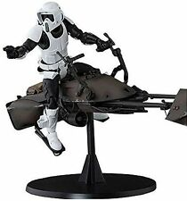 kb10 S.H.Figuarts Star Wars SCOUT TROOPER & SPEEDER BIKE Action Figure BANDAI
