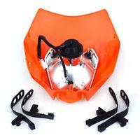 Orange Headlights Assemblies Headlamp Light Streetfighter For KTM EXC SX XCF