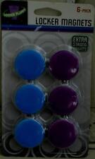 Locker Planet Locker Magnets - Pack of 6 Magnets - BRAND NEW IN PACKAGE