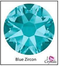 BLUE ZIRCON Swarovski 5mm 20ss Crystal Flatback Rhinestones 2088 Xirius 36 pcs