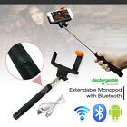 "39"" Bluetooth Extendable Handheld Universal Selfie Stick Monopod iPhone Samsung"