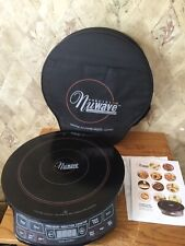 NuWave Precision Induction Cooktop Portable Cook Top w/ Manual & Cover