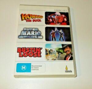 Howard the duck / Super Mario Bros / Bustin' Loose 3 dvd set Umbrella Region 4