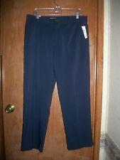 IZOD Golf Navy Sportflex Straight Fit Pants Size 33 X 30 Ret.