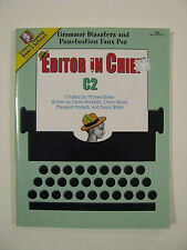 *Critical Thinking Editor In Chief Bk C-2~Grammar & Punctuation (Grade:8-Adult