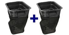 TWO New! OEM 532400226 Husqvarna Craftsman Lawn Tractor Bagger Container 400226