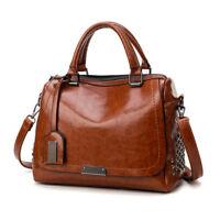 Fashion Leather Satchel Handbag Shoulder Tote Messenger Crossbody Hobo Bag Women