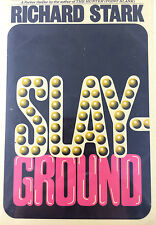 SLAYGROUND BY RICHARD STARK  *SIGNED*FIRST EDITION*