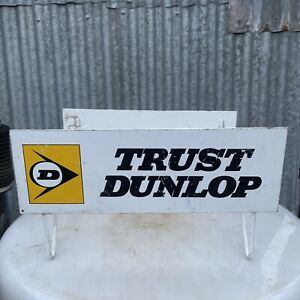 DUNLOP TYRES Genuine Vintage Double Sided Tyre Rack Display Stand