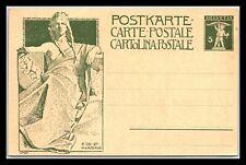 GP GOLDPATH: SWITZERLAND POSTAL CARD MINT _CV776_P05