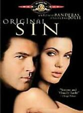 Original Sin (DVD, 2002, R-Rated Theatrical Version) NEW