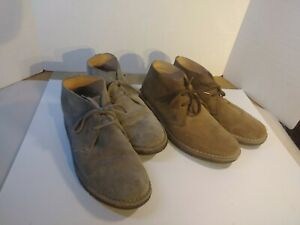 Astorflex 2 Pair Suede Leather Chukka Desert Ankle Boots Italy  Men EU 43 US 10