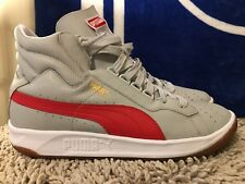 Puma Challenge, Art No. 357882-08, Grey / Red, Men's Casual Shoes, Size 12