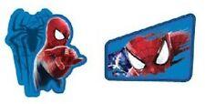 NEW SPIDERMAN SLINGER CUPCAKE RINGS  (12)