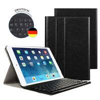 DE DEUTSCHE Tastatur iPad 2 3 4 mit Schutzhülle QWERTZ Bluetooth Keyboard Case